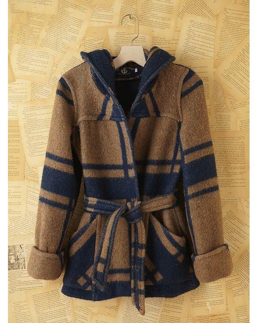 Free People | Black Vintage Wool Jacket | Lyst