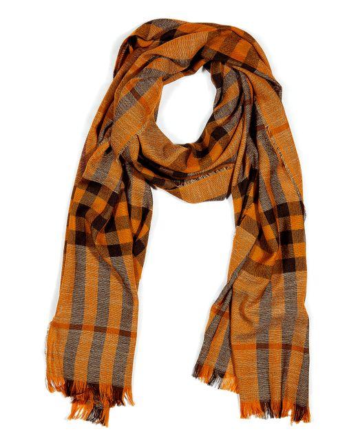 Iris Von Arnim | Orange Cashmere Pullover With Zipped Front for Men | Lyst