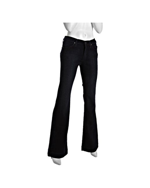 James Jeans | Black Drakko Stretch Denim Humphrey Flare Leg Jeans | Lyst
