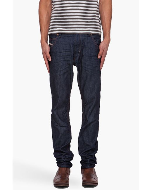 DIESEL | Blue Denim Pants for Men | Lyst