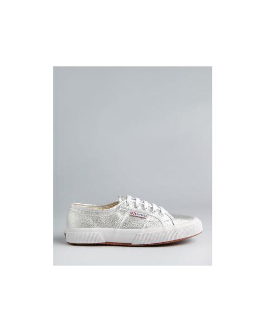 Superga | Metallic Classic Lame Sneakers | Lyst