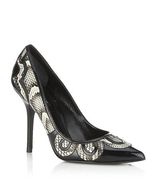 Dolce & Gabbana | Animal Glory 105 Satin Sandals | Lyst