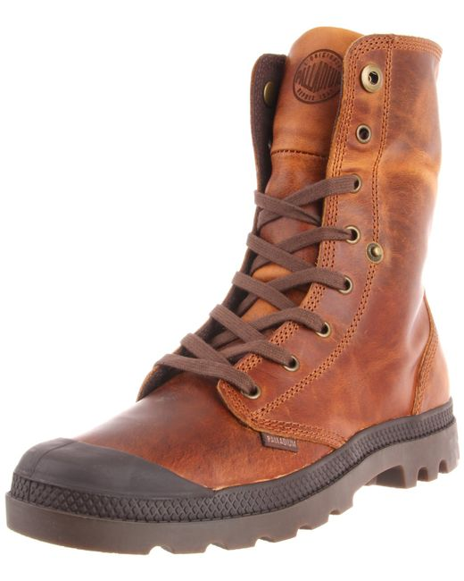 Men's Baggy Leather Boot