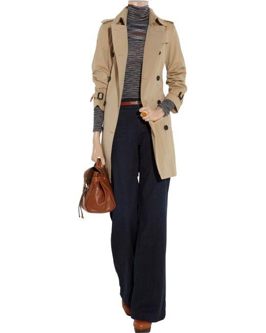 Goldsign | Blue Seville High-rise Wide-leg Jeans | Lyst