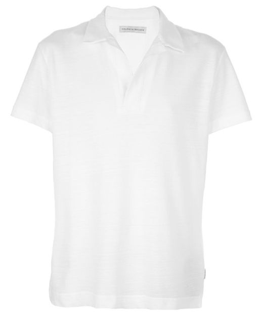 Orlebar Brown | White Ob-v Slim-fit Cotton-jersey T-shirt for Men | Lyst