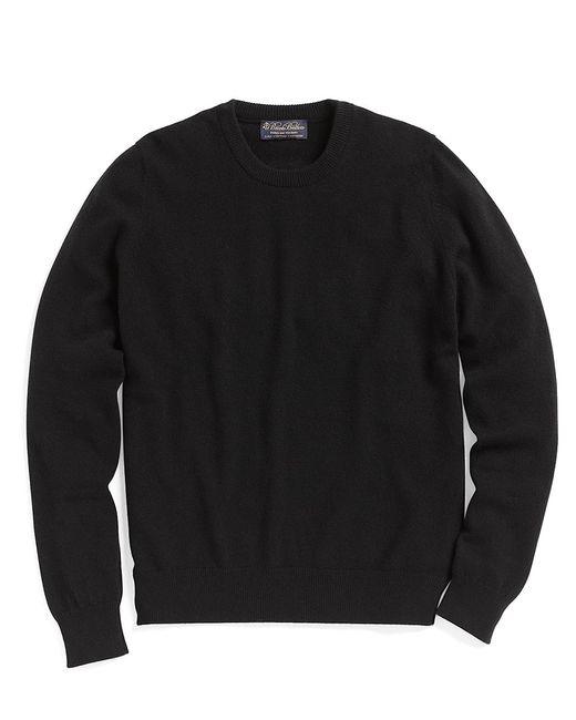 Brooks Brothers | Black Cashmere Crewneck Sweater-basic Colors for Men | Lyst