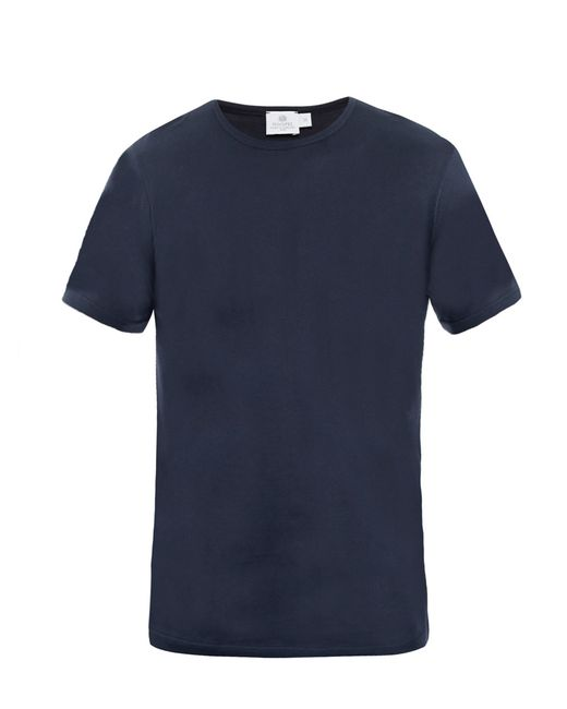 Sunspel | Blue Crewneck Tshirt for Men | Lyst