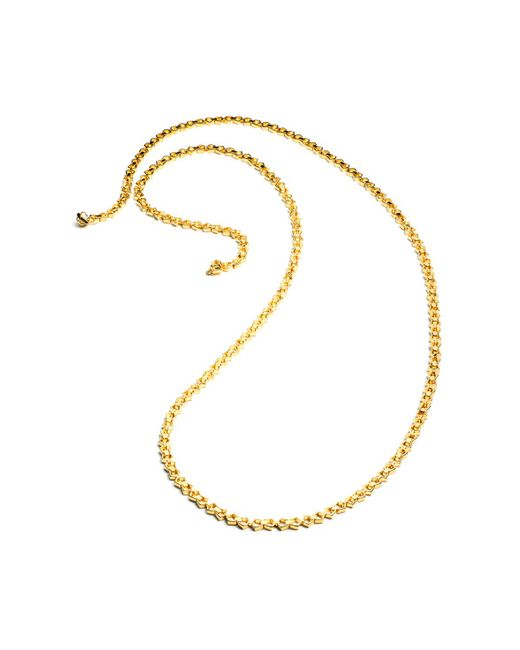 Eddie Borgo | Metallic Small Lattice Link Necklace | Lyst