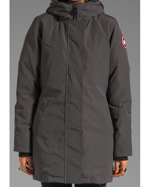 Canada Goose jackets online cheap - Canada goose Victoria Parka With Coyote Fur Trim in Gray (graphite ...