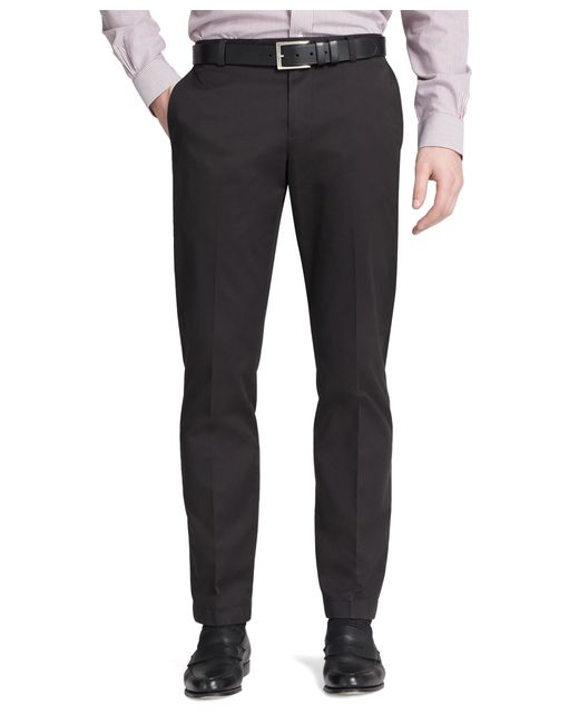 Brooks Brothers | Black Milano Fit Plain-front Lightweight Advantage Chinos® for Men | Lyst