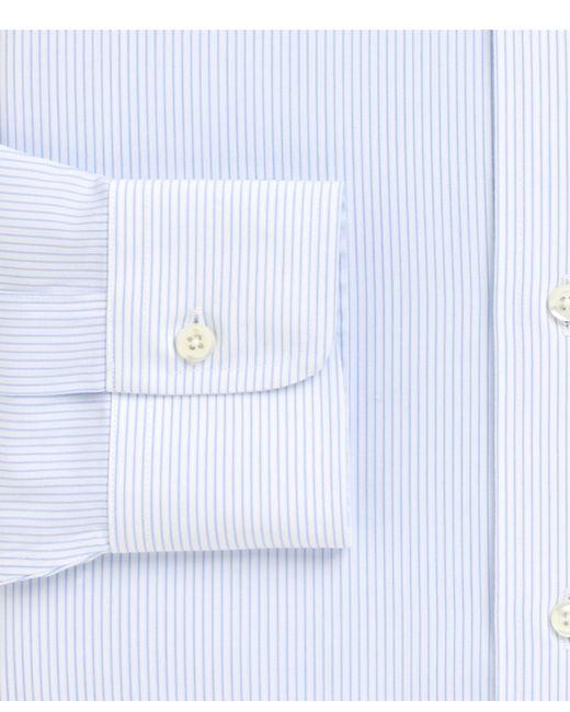Brooks Brothers Non Iron Madison Fit Mini Pinstripe Dress