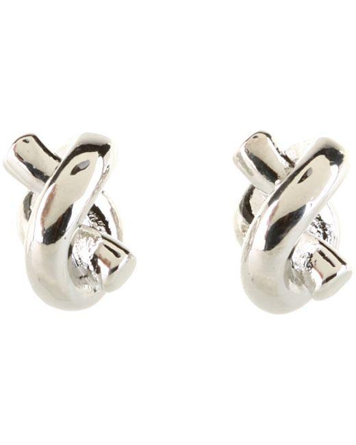 Kate Spade | Metallic Sailor's Knot Stud Earrings | Lyst