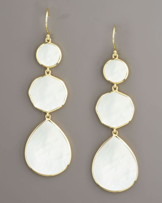 Ippolita | White Gelato Mother-Of-Pearl Earrings | Lyst