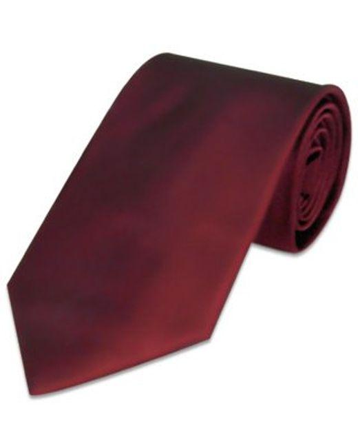 FORZIERI | Purple Solid Bordeaux Extra-long Tie for Men | Lyst