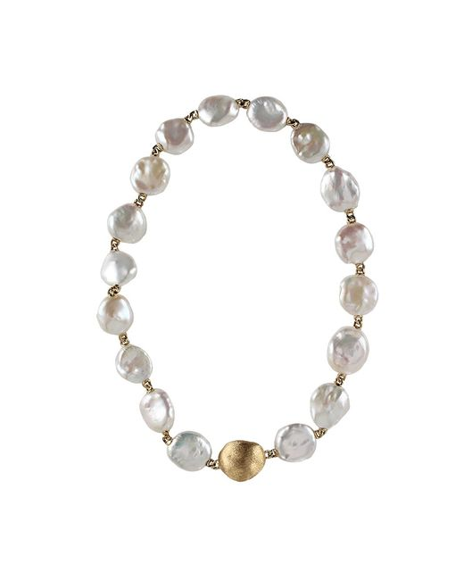 Yvel | Metallic Keshi Pearl Necklace | Lyst