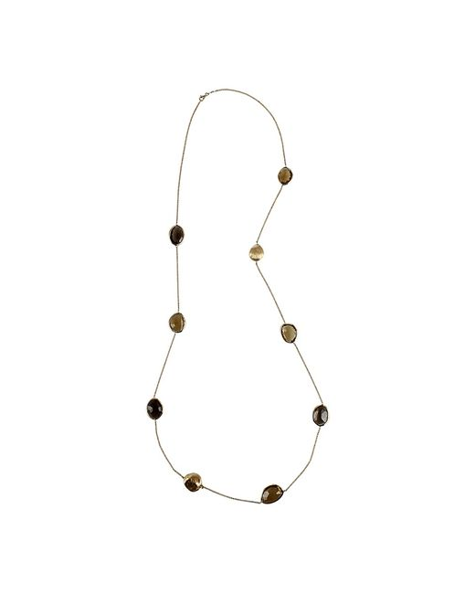Yvel | Multicolor Multi-color Smokey Quartz Necklace | Lyst