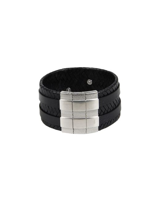Emporio Armani | Black Bracelets for Men | Lyst