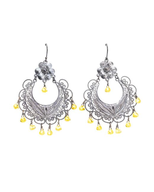 First People First | Yellow Earrings | Lyst