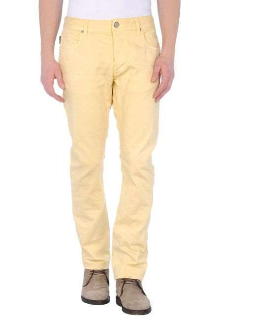 jack jones denim pants in beige for men lyst. Black Bedroom Furniture Sets. Home Design Ideas