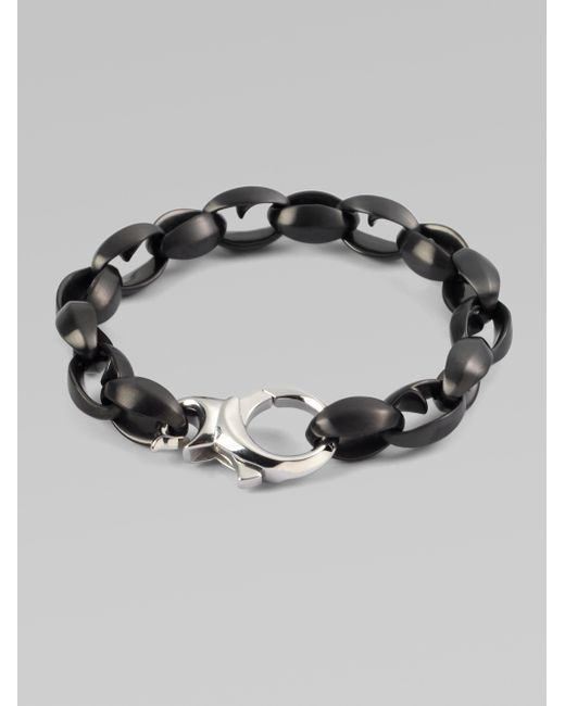 Stephen Webster | Black Thorn Link Bracelet | Lyst
