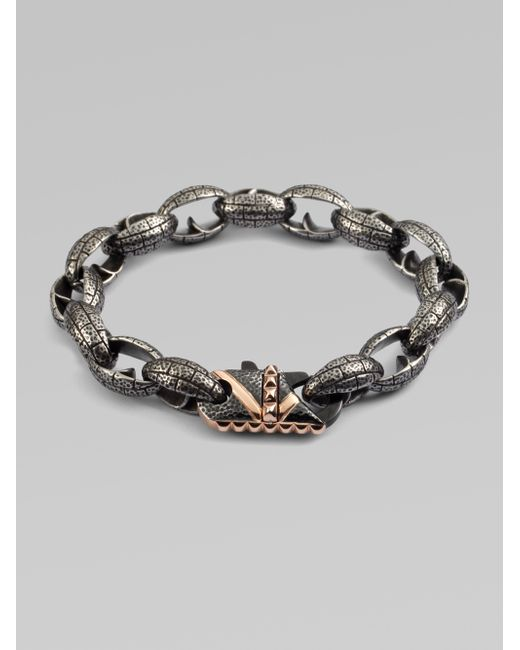 Stephen Webster | Metallic Steel Link Bracelet for Men | Lyst
