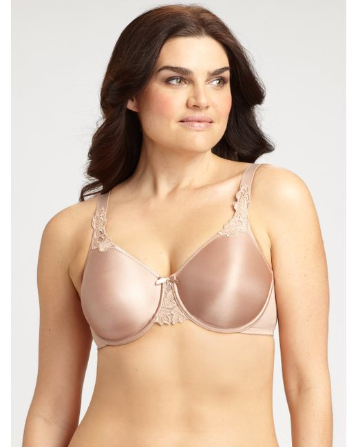 Chantelle | Natural Hedona Seamless Molded Underwire Bra | Lyst