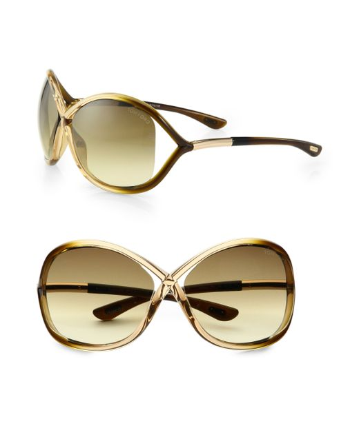 tom ford whitney 64mm oversized oval sunglasses in metallic save 5. Cars Review. Best American Auto & Cars Review