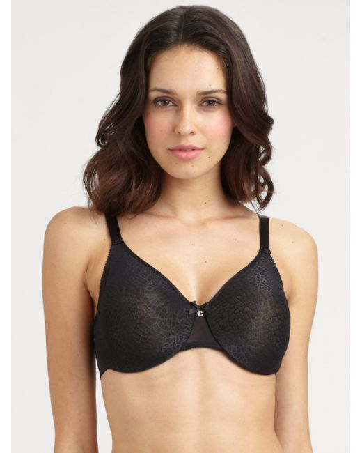 Chantelle | Black C Magnifique Seamless Molded Underwire Bra | Lyst