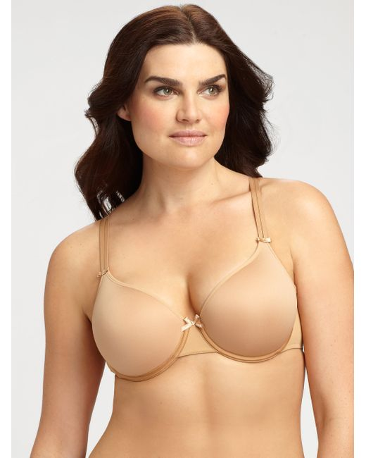 Chantelle | Natural Basic Invisible Memory Foam T-shirt Bra | Lyst