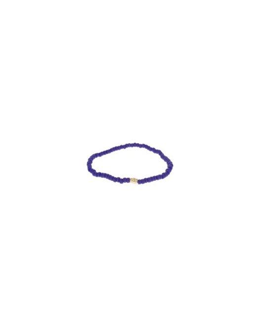 Luis Morais   Blue 14kt Gold Large Star Mantra Charm Bracelet   Lyst