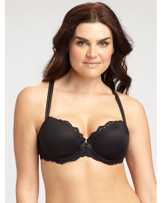 Chantelle | Black Parisian Demi T-shirt Bra | Lyst