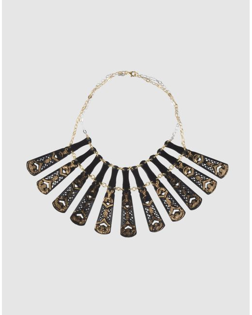 Carmina Campus | Black Necklace | Lyst