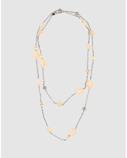 Isaac Mizrahi New York | Metallic Necklace | Lyst
