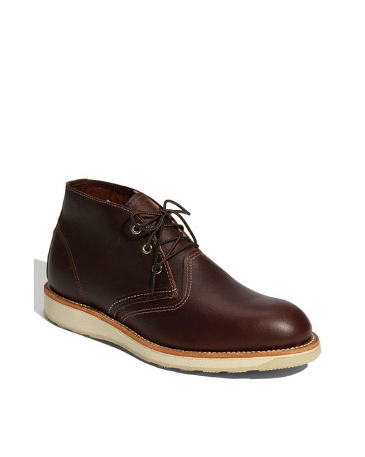 Red Wing | Brown Leather Chukka Boots for Men | Lyst
