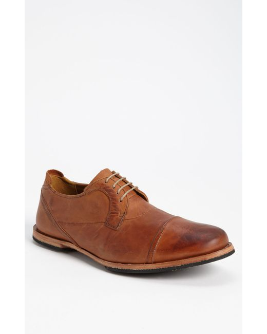Timberland | Brown 'wodehouse Lost History' Cap Toe Oxford for Men | Lyst