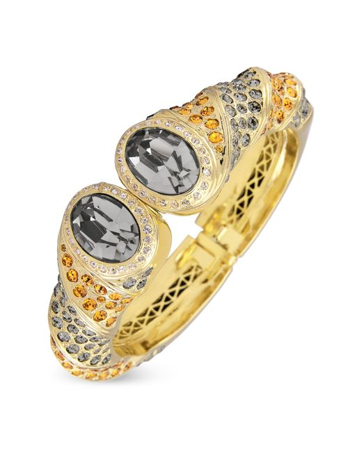 AZ Collection   Metallic Gold-plated Cuff Bracelet   Lyst