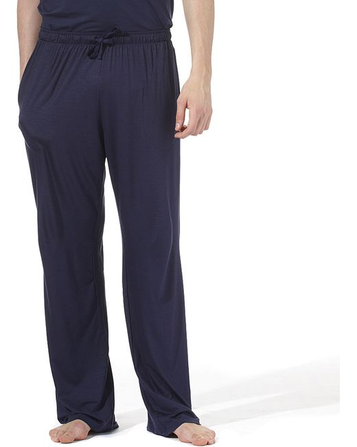 Derek Rose | Blue Basel Casual Trousers for Men | Lyst