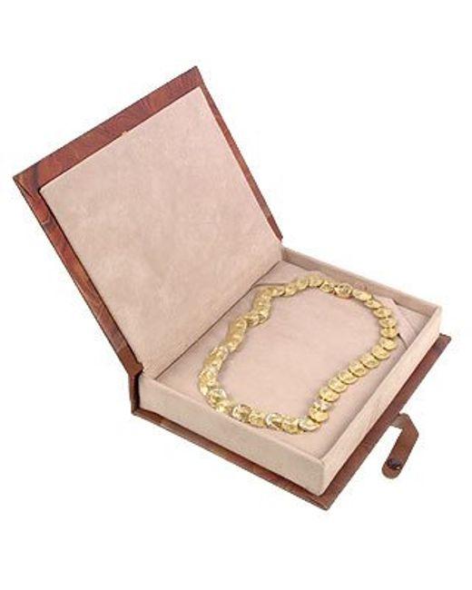 Torrini | Metallic Lenticchie - 18k Gold And Diamonds Necklace | Lyst