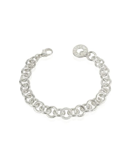 Torrini | Metallic Coin 1369 - Sterling Silver Rolo Chain Charm Bracelet | Lyst