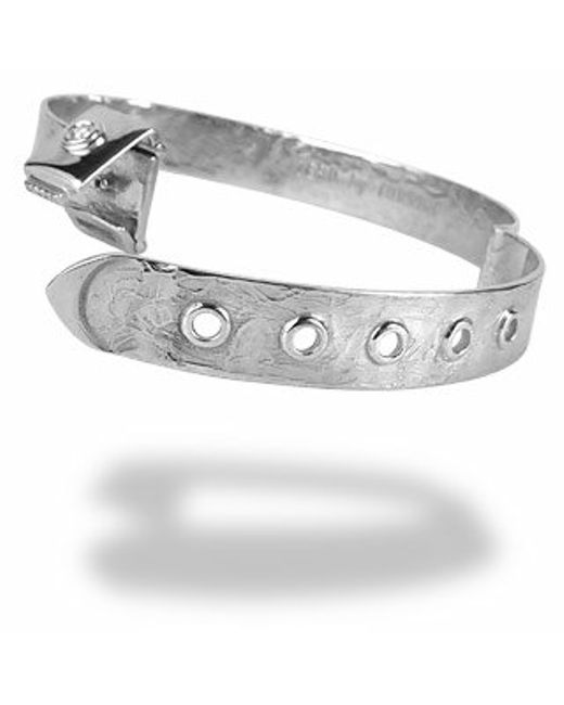 Torrini | Zero - 18k White Gold And Diamond Bangle Bracelet | Lyst
