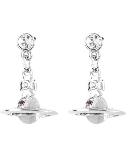 Vivienne Westwood | Metallic Classic 3d Orb Earrings | Lyst