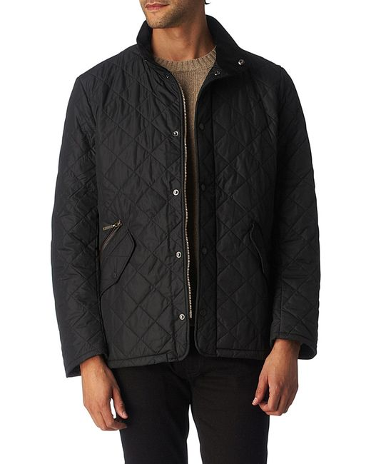 Barbour | Black Chelsea Quilted Jacket for Men | Lyst