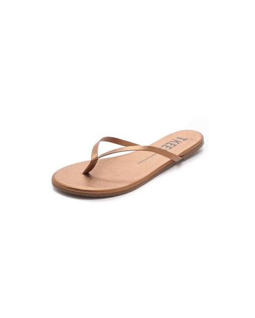 TKEES   Brown Foundations Flip Flops   Lyst