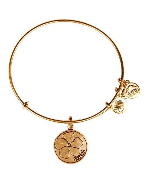 ALEX AND ANI | Metallic Friend Expandable Wire Bangle | Lyst