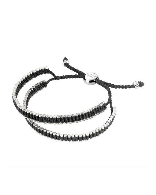 Links of London   Black Wimbledon Mini Friendship Bracelet   Lyst
