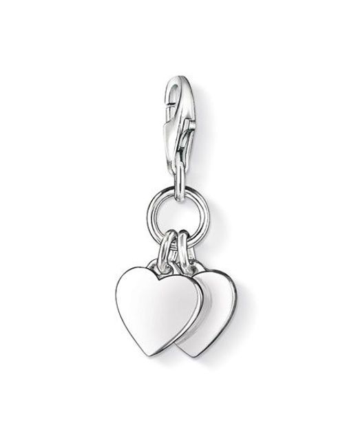 Thomas Sabo | Metallic Charm Club Hearts | Lyst
