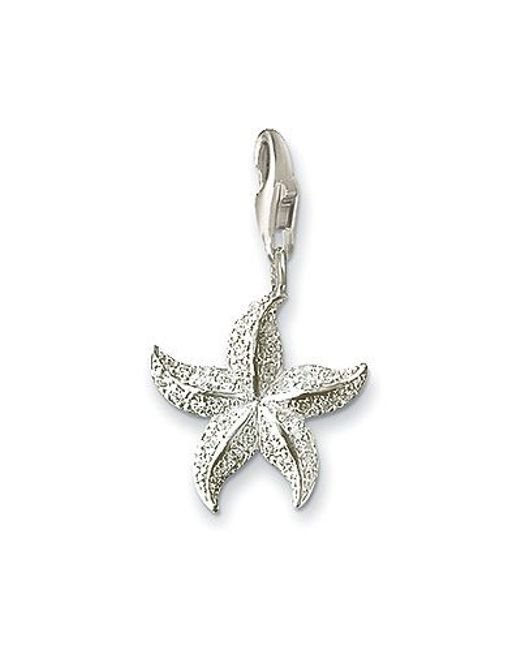 Thomas Sabo | Metallic Charm Club Starfish | Lyst