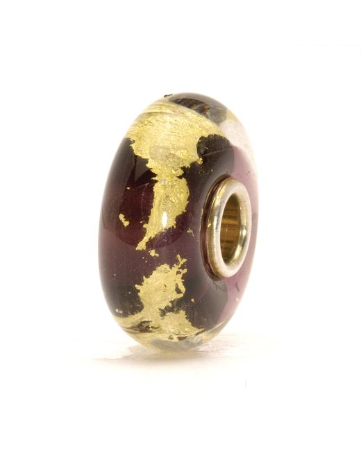 Trollbeads | Purple Third Eye Glass Charm Bead | Lyst