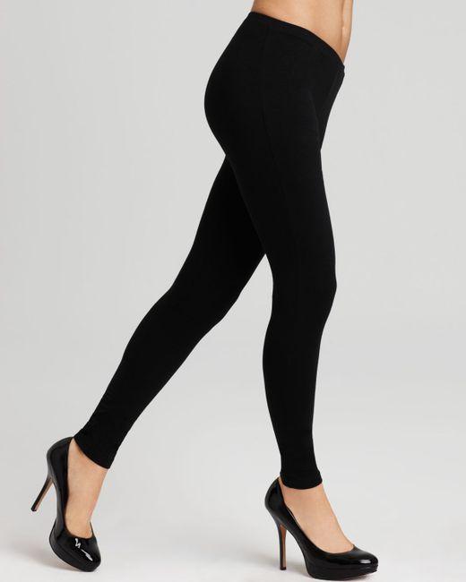 Hue Leggings - Cotton #u2243 in Black   Lyst
