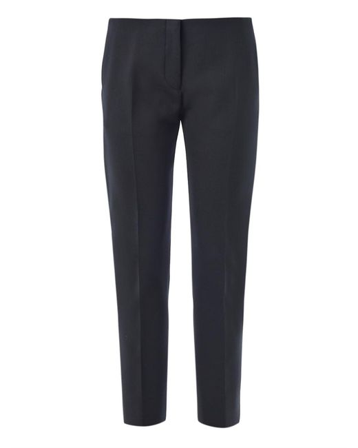 Acne | Black Saville Crop Trousers for Men | Lyst
